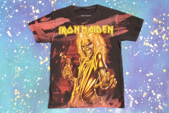 Iron MAIDEN Metal Rock T-Shirt Size S