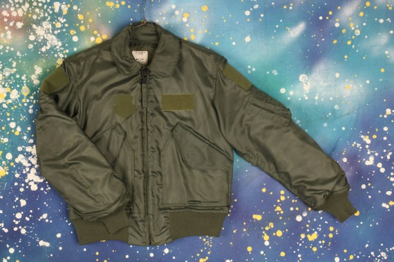 vintage AIR FORCE Flight Bomber Jacket