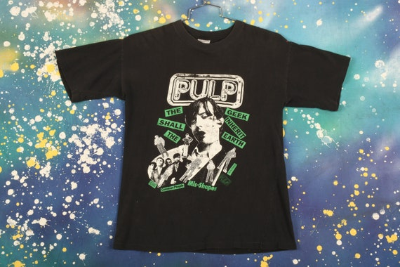 Pulp Band T-Shirt Size L