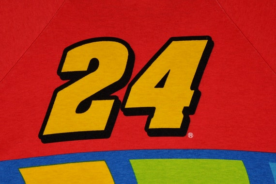 Vintage 90s NASCAR Racing Jeff Gordon #24 DUPONT … - image 5