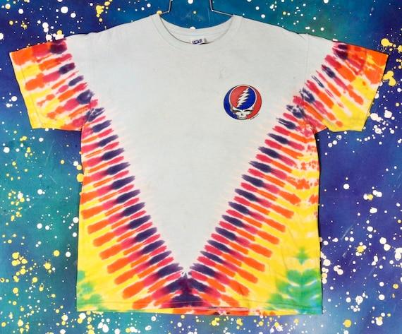 GRATEFUL DEAD Hippie Rock T-Shirt Size L