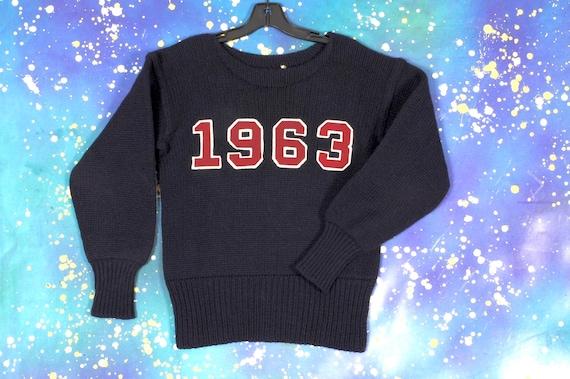 1950 varsity sweater