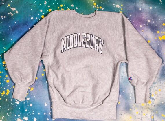 MIDDLEBURY Champion  Reverse Weave Sweatshirt Size