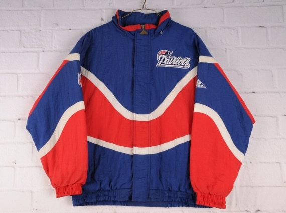 New England Patriots Apex One Sports Jacket Size X