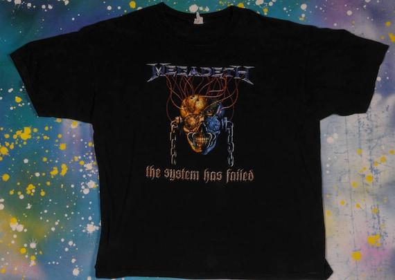 Megadeth Heavy Metal  T-Shirt Size 2XL