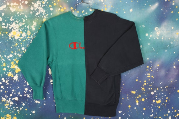 Vintage Champion Split Crewneck Sweatshirt