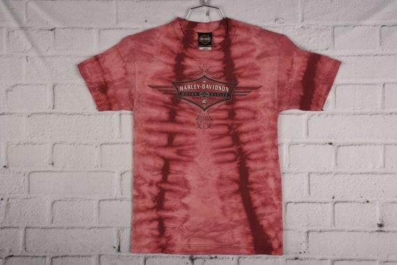 vintage HARLEY DAVIDSON Tie Dye T Shirt