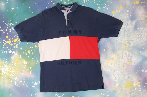 Tommy Hilfiger Polo Shirt - Medium
