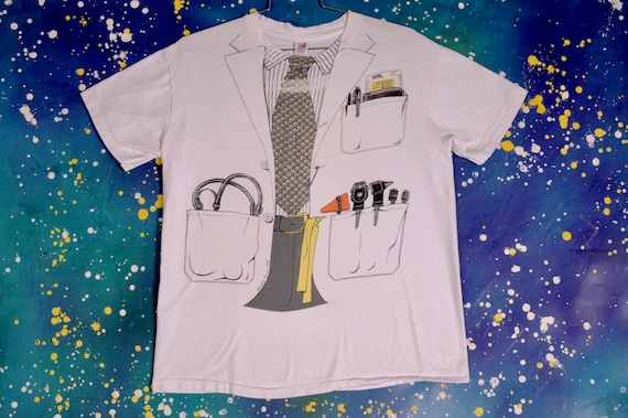 late 70s early 80s DOCTOR T Shirt - XL