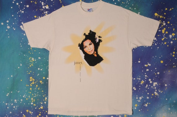 JANET JACKSON Summer Tour 1994 Rock T-Shirt Size X