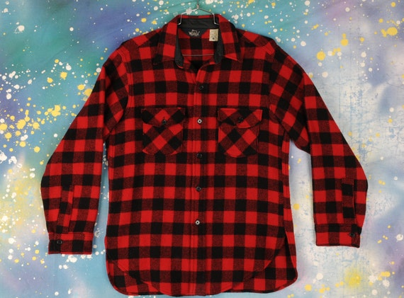 Vintage Woolrich Flannel Hunting shirt