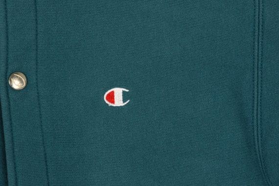 Vintage Champion Teal Sweatshirt - Medium - image 2