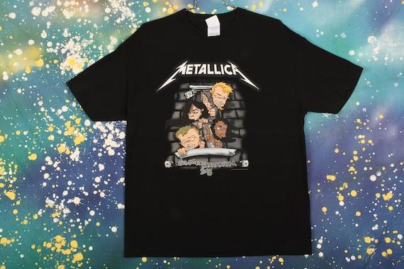 Metallica Band T-Shirt Size XL
