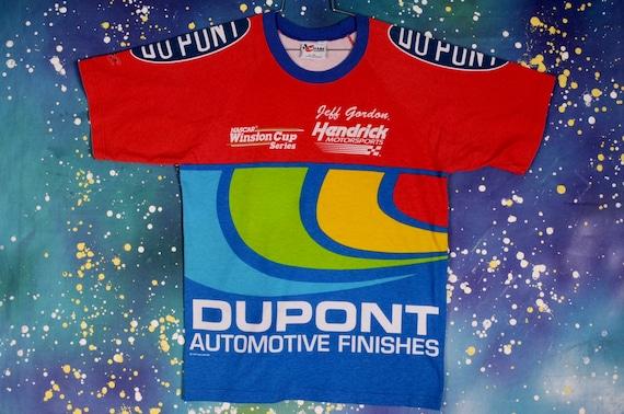 Vintage 90s NASCAR Racing Jeff Gordon #24 DUPONT … - image 1