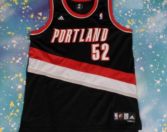 Portland TRAIL BLAZERS #52 Oden Adidas Basketball Jersey Size XL