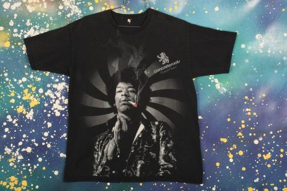 Jimi Hendrix Smoking T-Shirt Size XL