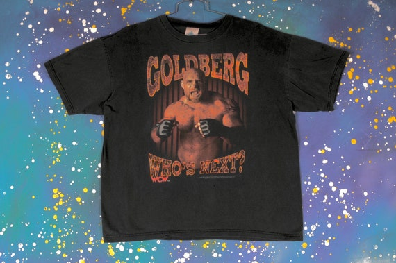 GOLDBERG wwf Wrestling T-Shirt Size XL