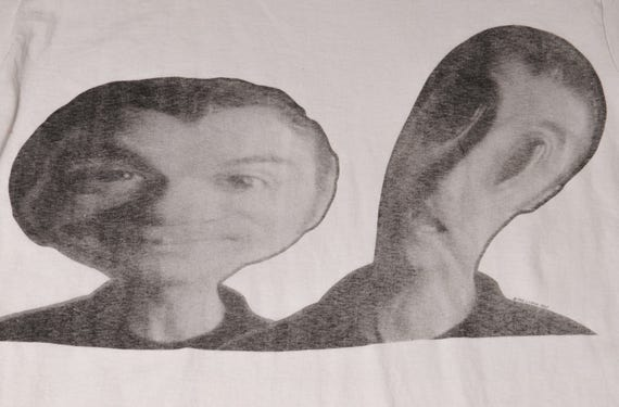 David BYRNE Talking HEADS New Wave Rock T-Shirt S… - image 2