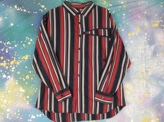90s Francois Girbaud shirt 2XL