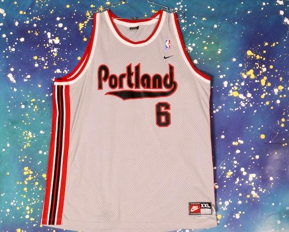 Portland TRAIL BLAZERS #6 Wells  Basketball Jersey