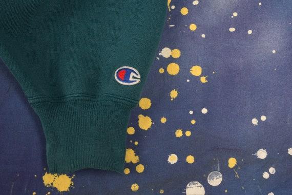 Vintage Champion Teal Sweatshirt - Medium - image 5