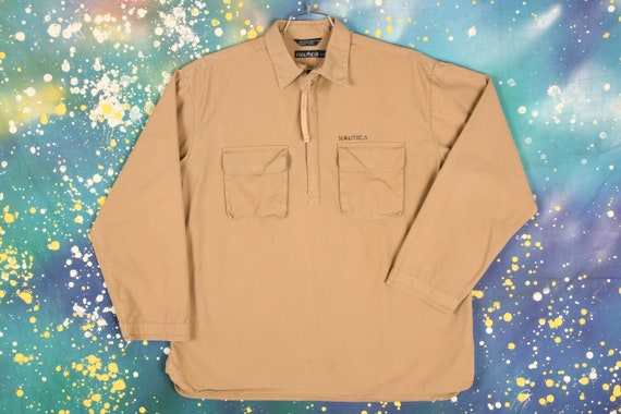 Vintage Nautica Anorak Jacket