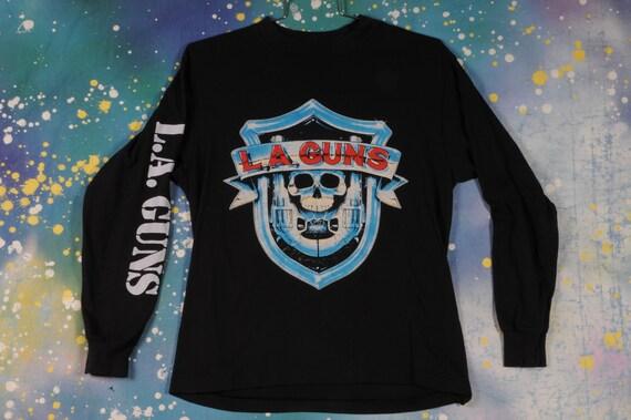 LA GUNS Glam Metal Rock SweatShirt Size L