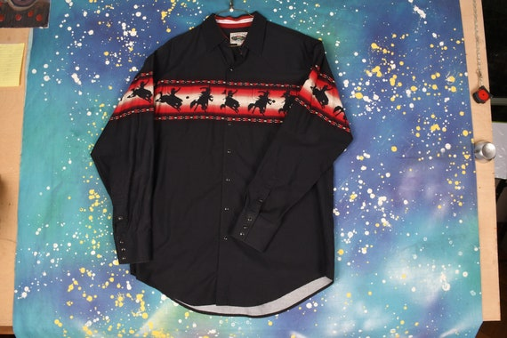 90s CUMBERLAND Western COWBOY Shirt