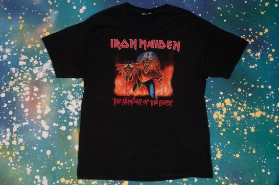 Iron Maiden Rock T-Shirt Size XL