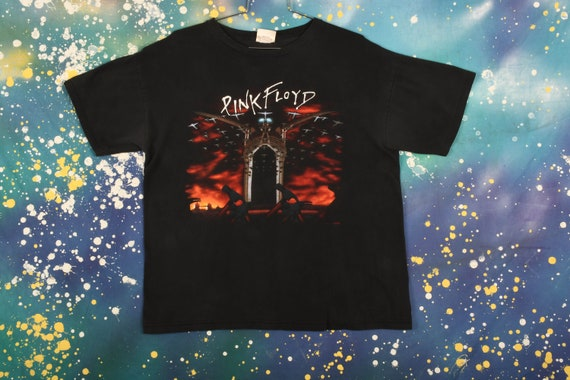 """Vintage Pink Floyd """"The Wall"""" T-Shirt Size XL"""