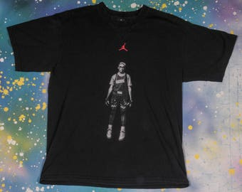 JORDAN Mars Blackmon  Nike Basketball Spike Lee sports T-Shirt Size L