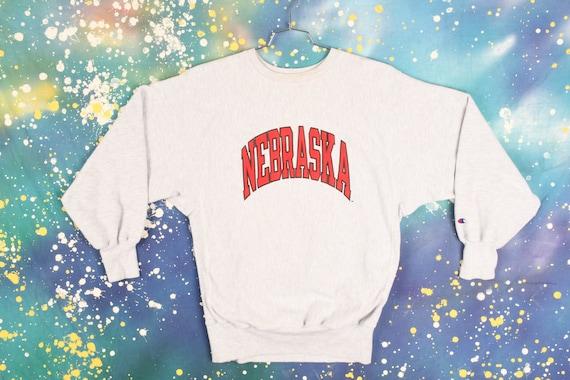 vintage 90s Nebraska Champion REVERSE WEAVE Sweats