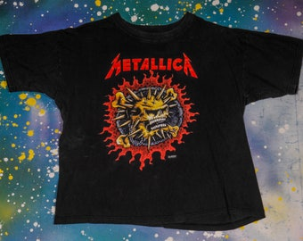 METALLICA Heavy Metal Thrash Rock T-Shirt Size XXL