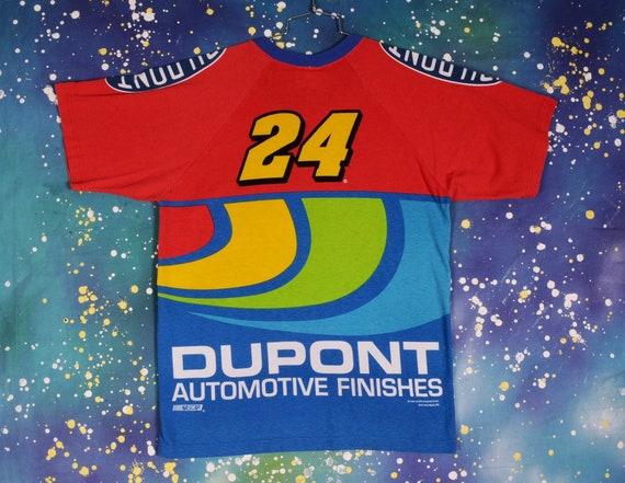 Vintage 90s NASCAR Racing Jeff Gordon #24 DUPONT … - image 4