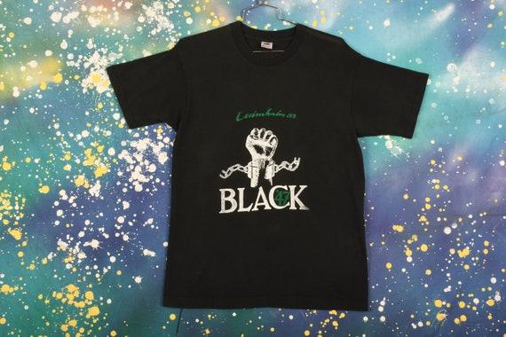 Black '47 Band T-Shirt Size L
