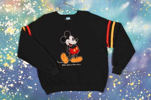 Vintage Mickey Mouse Sweatshirt - XL