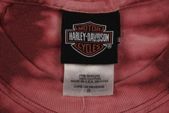 vintage HARLEY DAVIDSON Tie Dye T Shirt - image 6