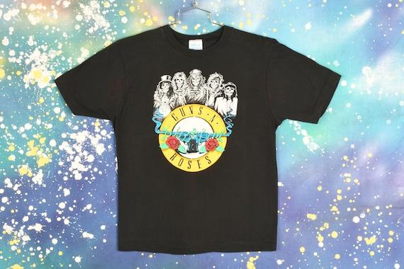 vintage 80s GUNS N ROSES skull T Shirt