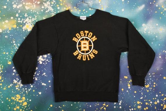 Boston Bruins Crewneck Size L