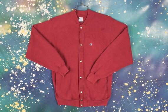 Vintage Champion button Sweatshirt - image 1