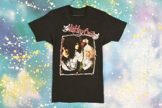 vintage 1989 MOTLEY CRUE Dr Feel Good TOUR T Shirt