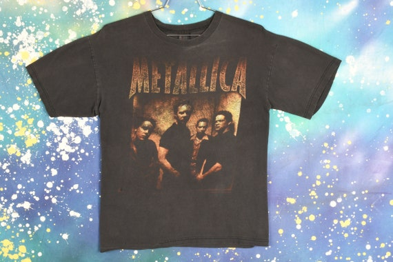 vintage 90s METALLICA Summer Tour T Shirt