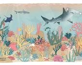 Coral reef A4 print - oce...