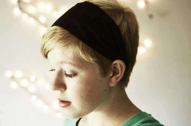 Headbands for pixie cut Headbands for women jerseymaid adult  dfab1326be3