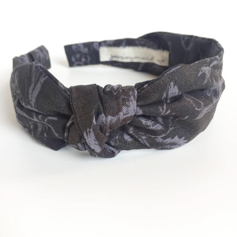 ef8fab0f60fb Headbands for women with bow narrow side knot headband