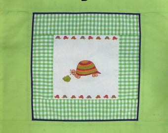 Little tortoise - patchwork cushion collection