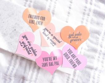 Galentine Cards, Galentine Valentines, Valentine Cards, Galentine Party, Valentine Hearts, Gal Pals, Besties, You Are Golden, Golden Girl