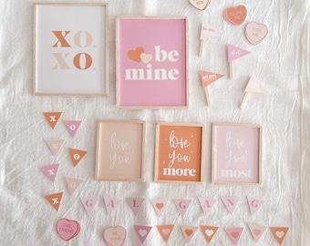 DIGITAL Valentine Dollhouse printable set