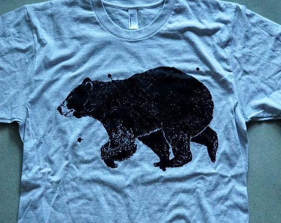 Black Bear Ink T-Shirt - American Apparel