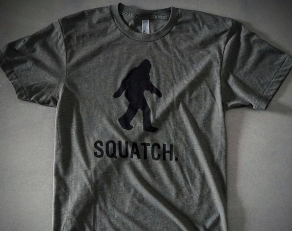 Squatch T Shirt - American Apparel - Limited Sizes Available